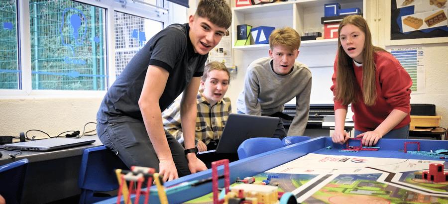 FIRST LEGO League Challenge kids programming robot