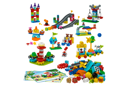 STEAM Park Elements for use with FIRST LEGO League Discover