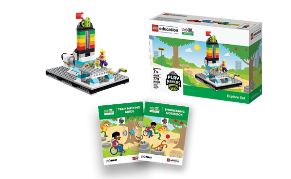 FIRST LEGO League Explore set