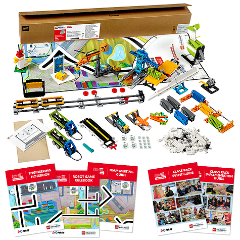 FIRST LEGO League Challenge materials