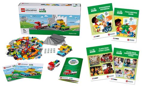 FIRST LEGO League Explore set