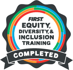 Badge of Completion for Equity, Diversity, and Inclusion Training