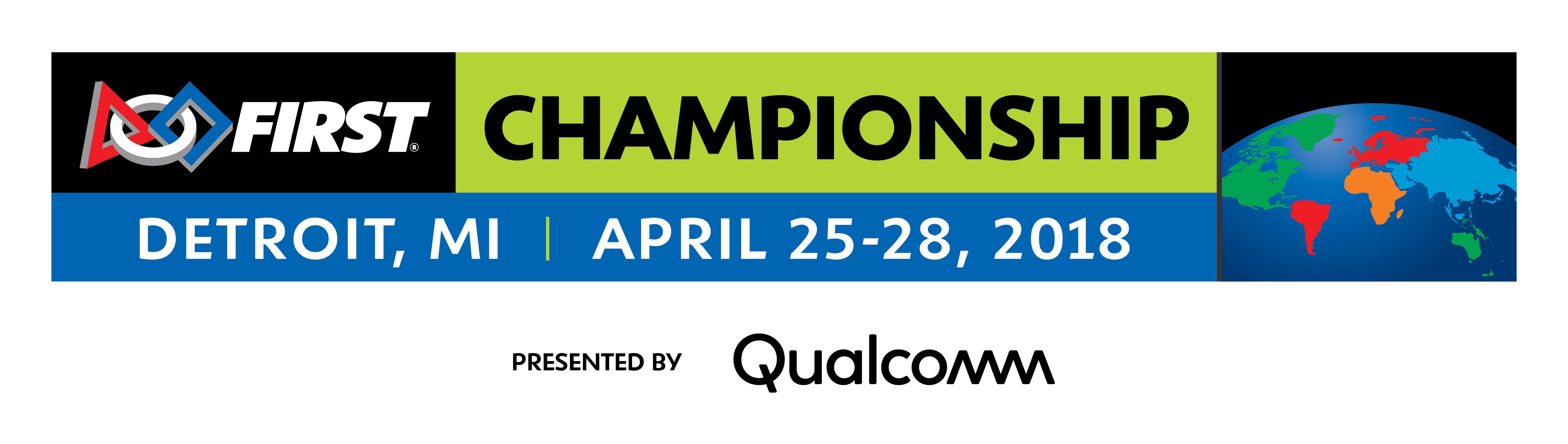 FIRST Championship Detroit banner