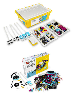 LEGO Education SPIKE Prime used in FIRST LEGO League Challenge