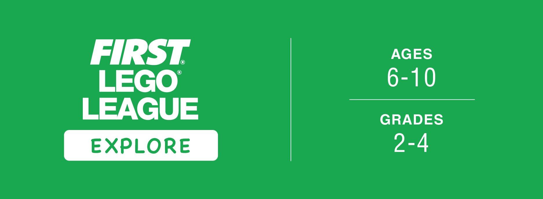 FIRST LEGO League Explore Logo